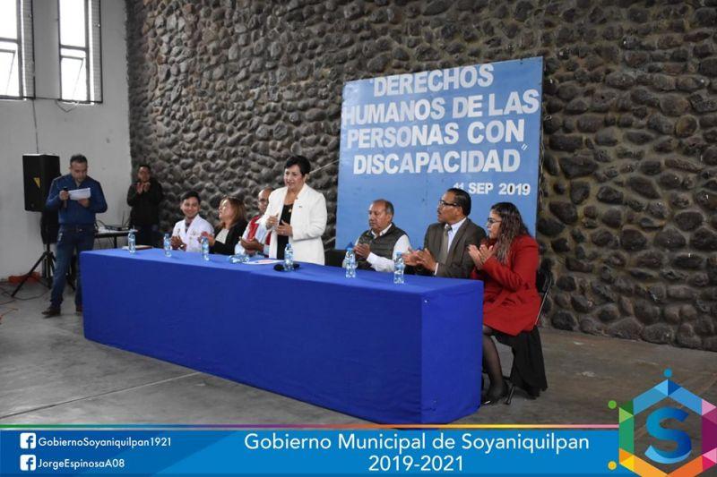 """La plática """"Derechos Humanos de las Personas con Discapacidad"""""""