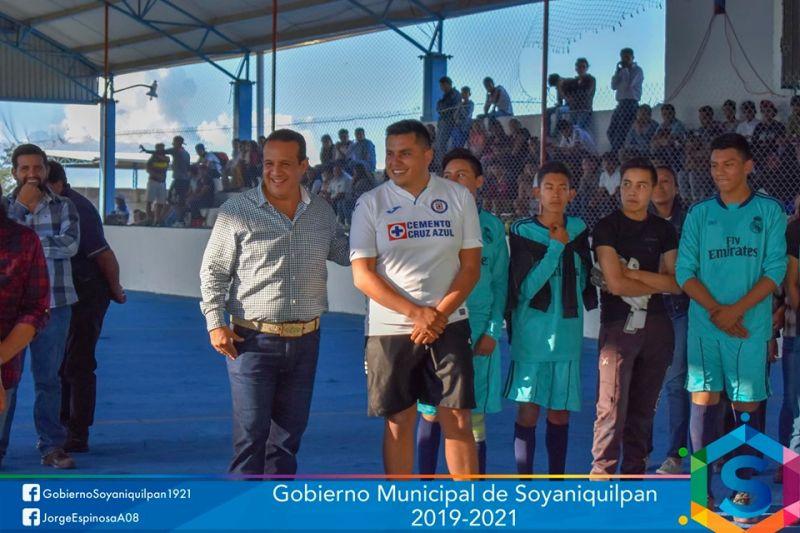 Inauguración de la Liga Municipal de Futbol Rápido
